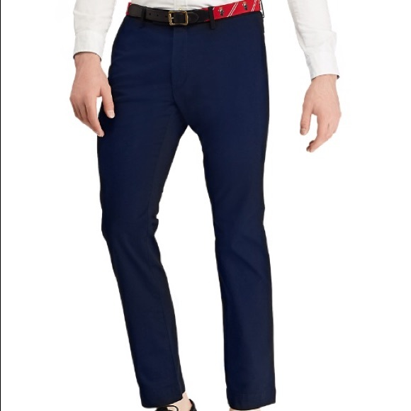 3159f05430 NWT Polo Ralph Lauren Stretch slim fit navy pants